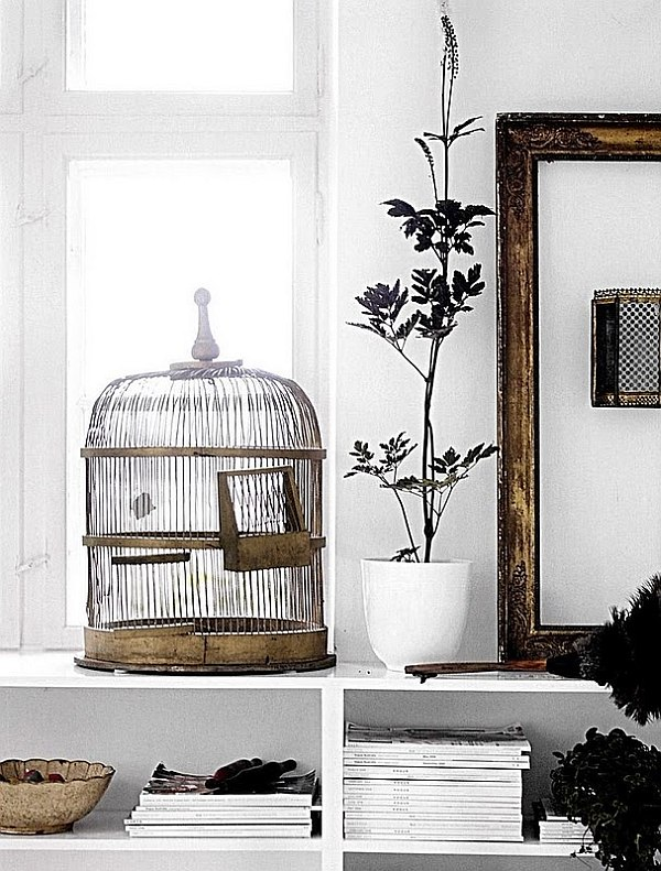 Amazing 13 Home Interior Bird Cage Minimalist